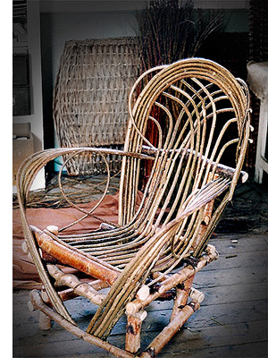 Willow Furniture by Trevor Leat